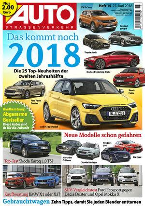 AutoStraßenverkehr Titel 15/2018
