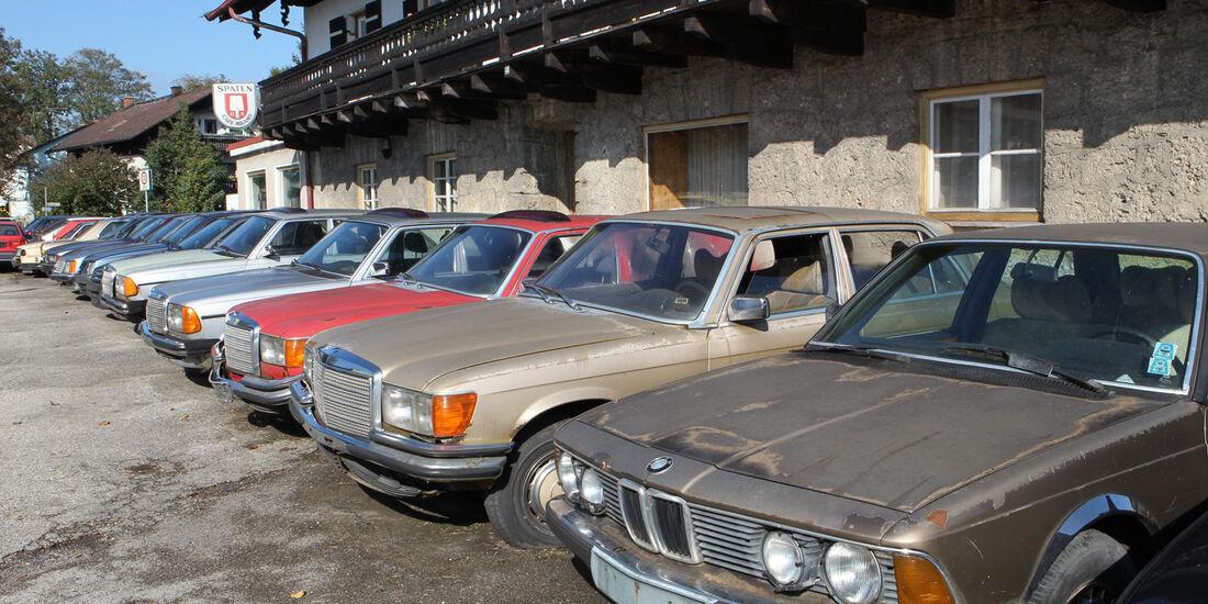 Autofriedhof Rust, Oberklasse