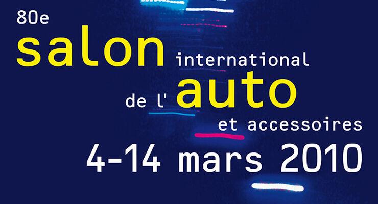 Autosalon Genf 2010 Plakat