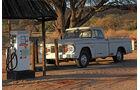 Autowracks in Namibia, Tankstelle