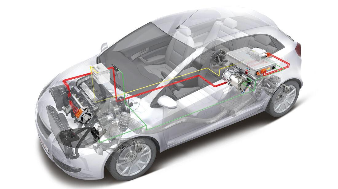 Axle Split Hybrid