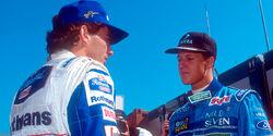 Ayrton Senna & Michael Schumacher - GP San Marino 1994