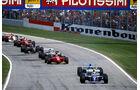 Ayrton Senna - Williams FW16 - Michael Schumacher - Benetton B194 - GP San Marino 1994 - Imola