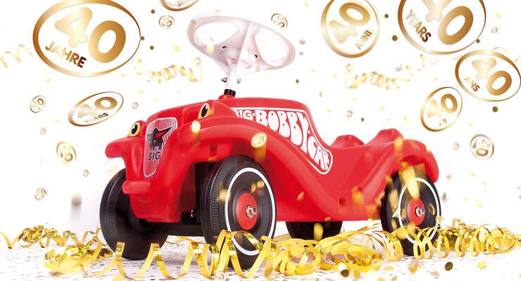 BIG Bobby-Car Jubiläum