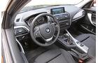 BMW 114i, Cockpit, Lenkrad