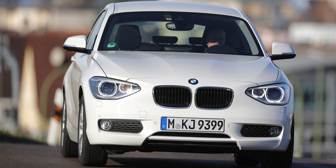 BMW 116d Efficient Dynamics Edition, Frontansicht