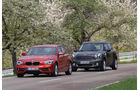 BMW 116d, Mini Countryman Cooper D, Frontansicht