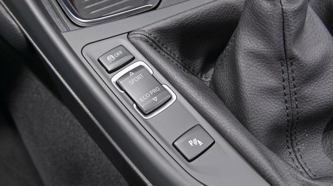 BMW 118i, Bedienelemente