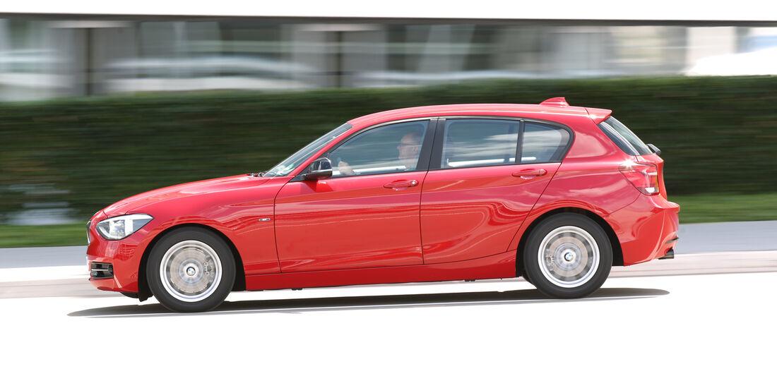 BMW 118i, Seitenansicht