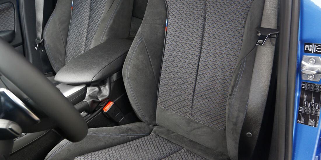 BMW 120d, Fahrersitz