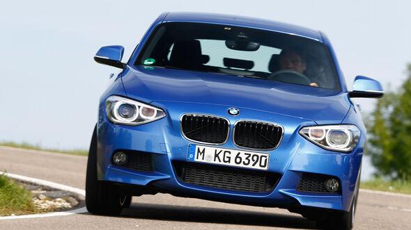 BMW 120d, Frontansicht