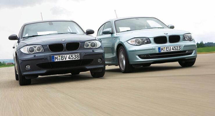 BMW 120i alt gegen neu