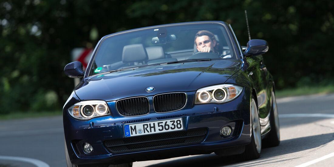 BMW 125i Cabrio, Frontansicht