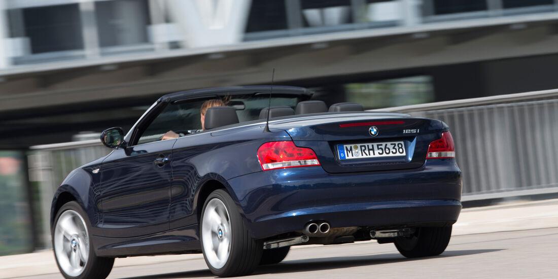 BMW 125i Cabrio, Heckansicht