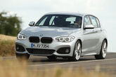 BMW 125i, Frontansicht