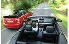 BMW 135i Cabriolet, Mini John Cooper Works Cabriolet