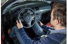 BMW 135i Coupé, Cockpit, Lenkrad