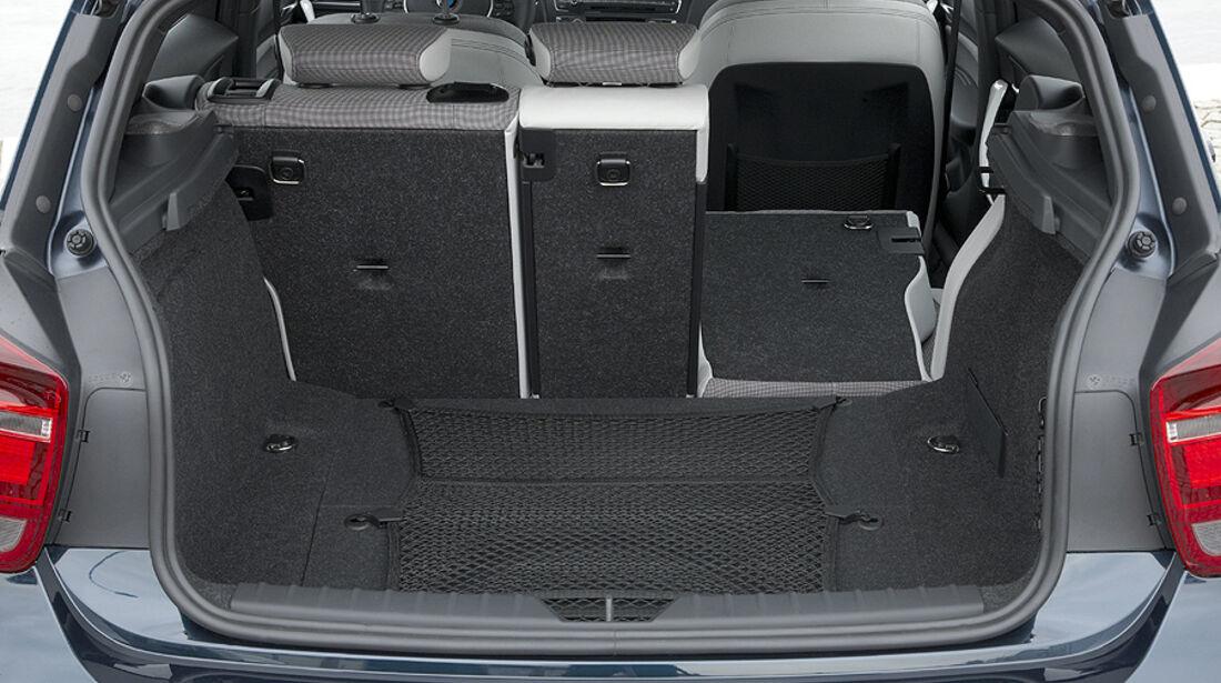 BMW 1er, 2011, Kofferraum