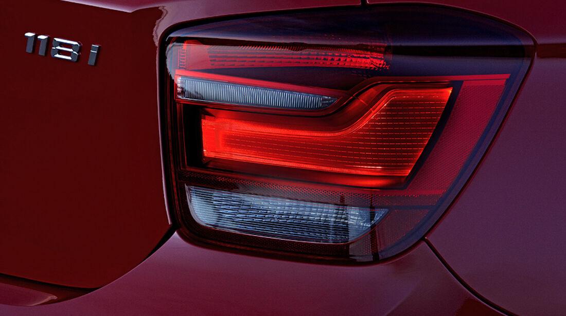 BMW 1er, 2011, Rückleuchte