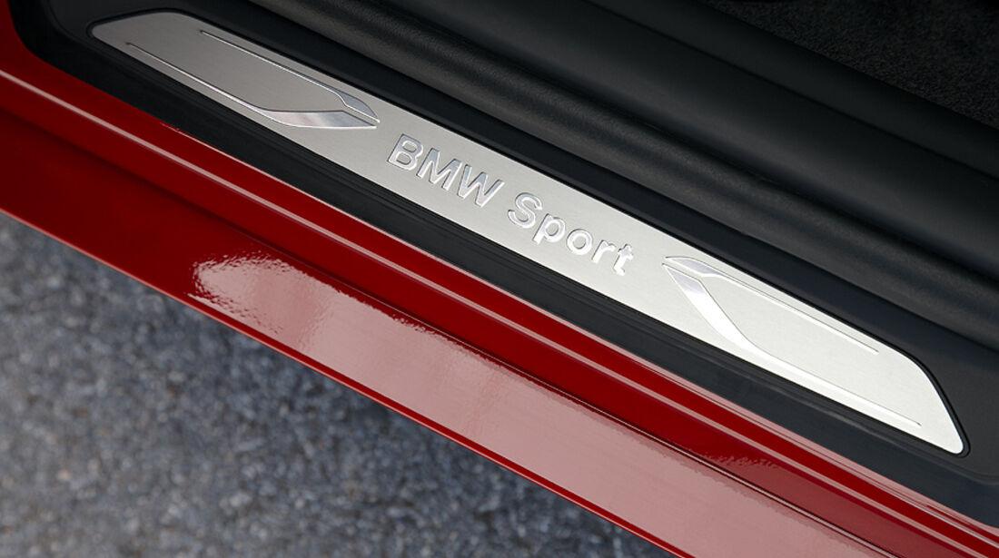 BMW 1er, 2011, Sport Line, Einstiegsleiste
