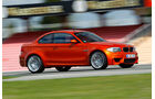 BMW 1er Coupe, Seitenansicht, Teststrecke