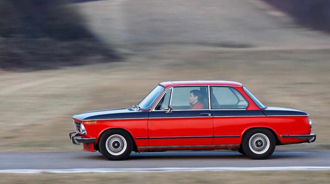 BMW 2002 tii Alpina, Seitenansicht