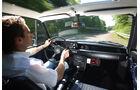 BMW 2002 tii, Cockpit, Fahrersicht