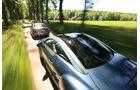 BMW 220d, Peugeot RCZ 2.0 HDi 160, Heckansicht