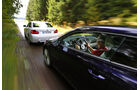 BMW 220i, VW Scirocco 2.0 TSI, Fahrt