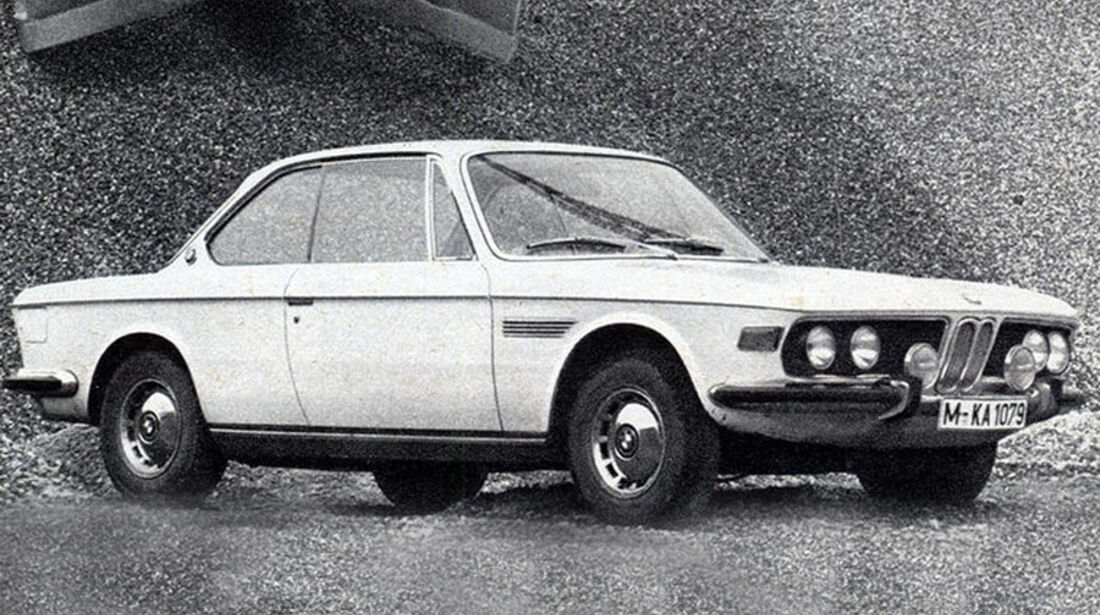 BMW, 2800 CS, Coupé, IAA 1969