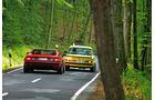 BMW 3.0 CSL, BMW M1, Heckansicht