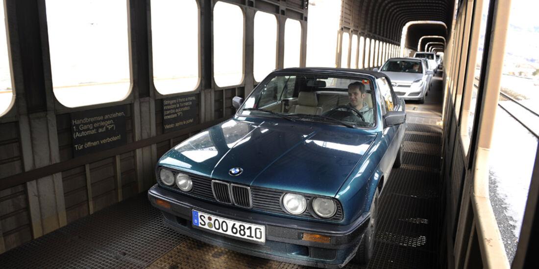 BMW 318i Cabriolet Autozug
