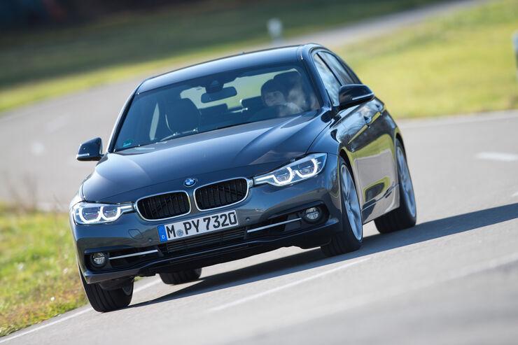 BMW 318i, Frontansicht