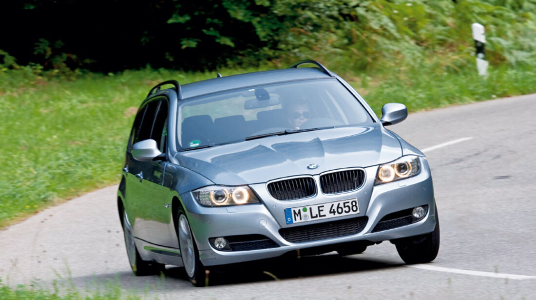 BMW 318i Touring, Frontansicht