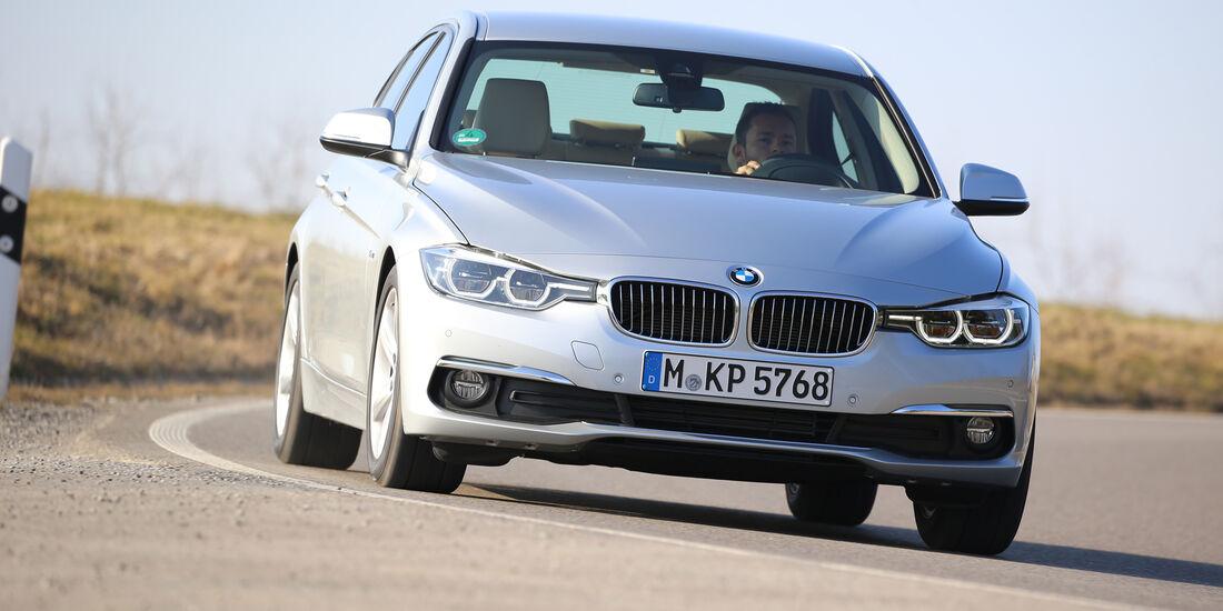 BMW 320d, Frontansicht