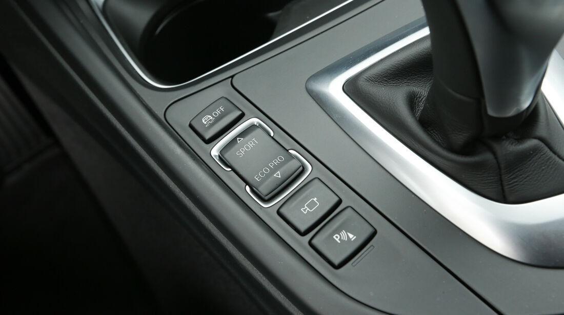 BMW 320d Touring Sport Line, Bedienelemente