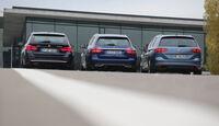 BMW 320d Touring xDrive, Mercedes C 250 d T 4Matic, VW Passat Variant 2.0 TDI 4Motion
