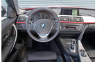 BMW 320i, Lenkrad, Cockpit