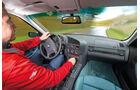 BMW 323i, Cockpit, Fahrersicht