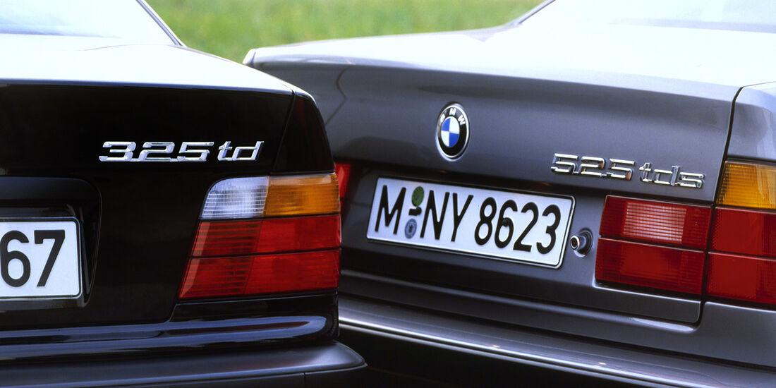 BMW 325td, BMW 525tds, 30 Jahre BMW-Dieselmotoren