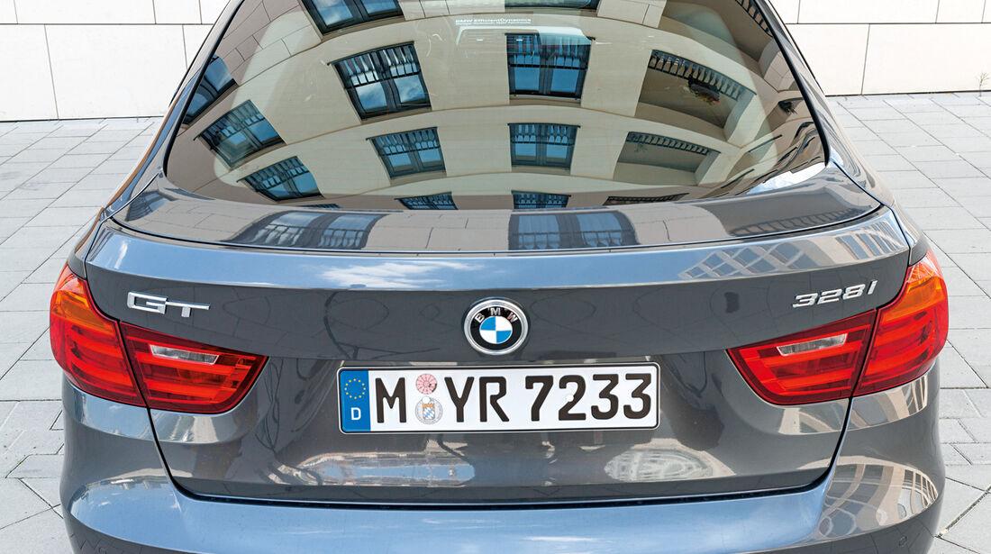 BMW 328i Gran Turismo, Heckansicht