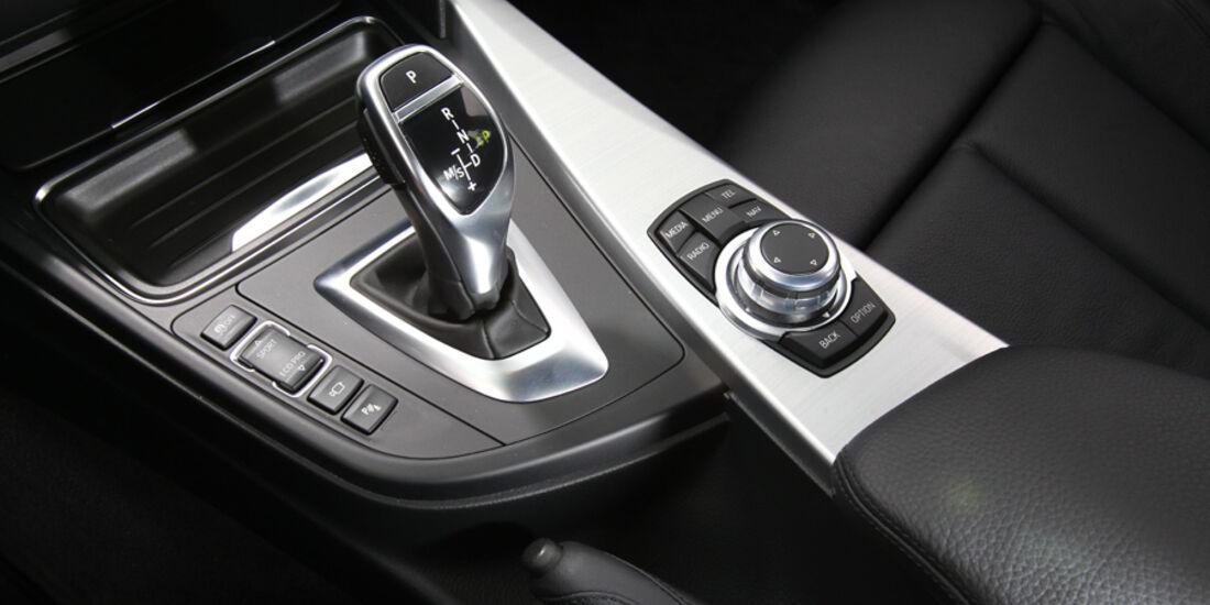 BMW 328i, Schalthebel