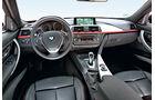 BMW 335i, Cockpit