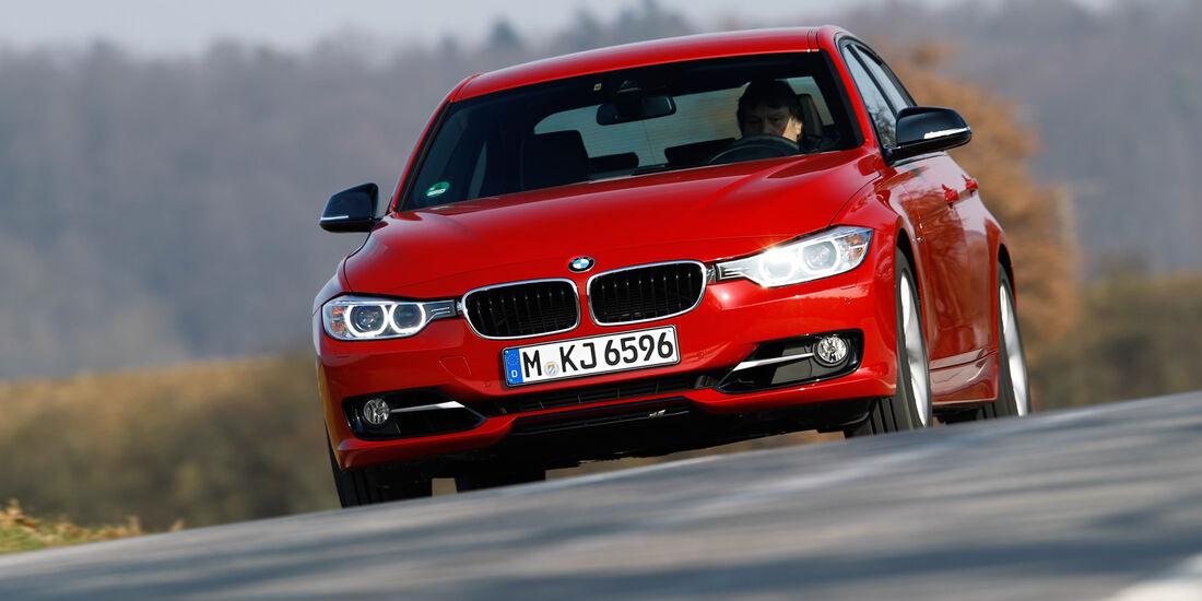 BMW 335i, Frontansicht