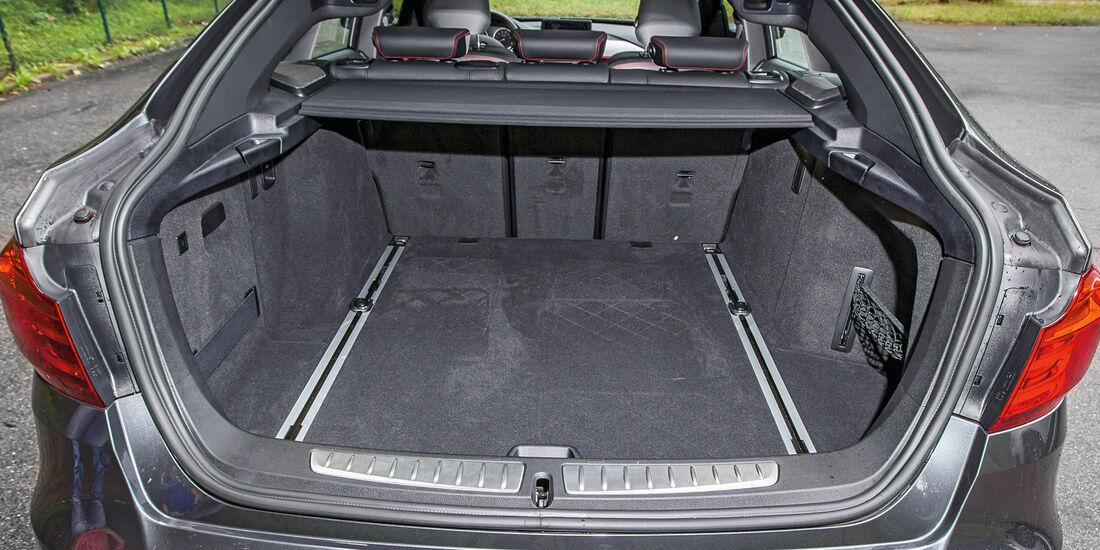 BMW 335i GT, Kofferraum