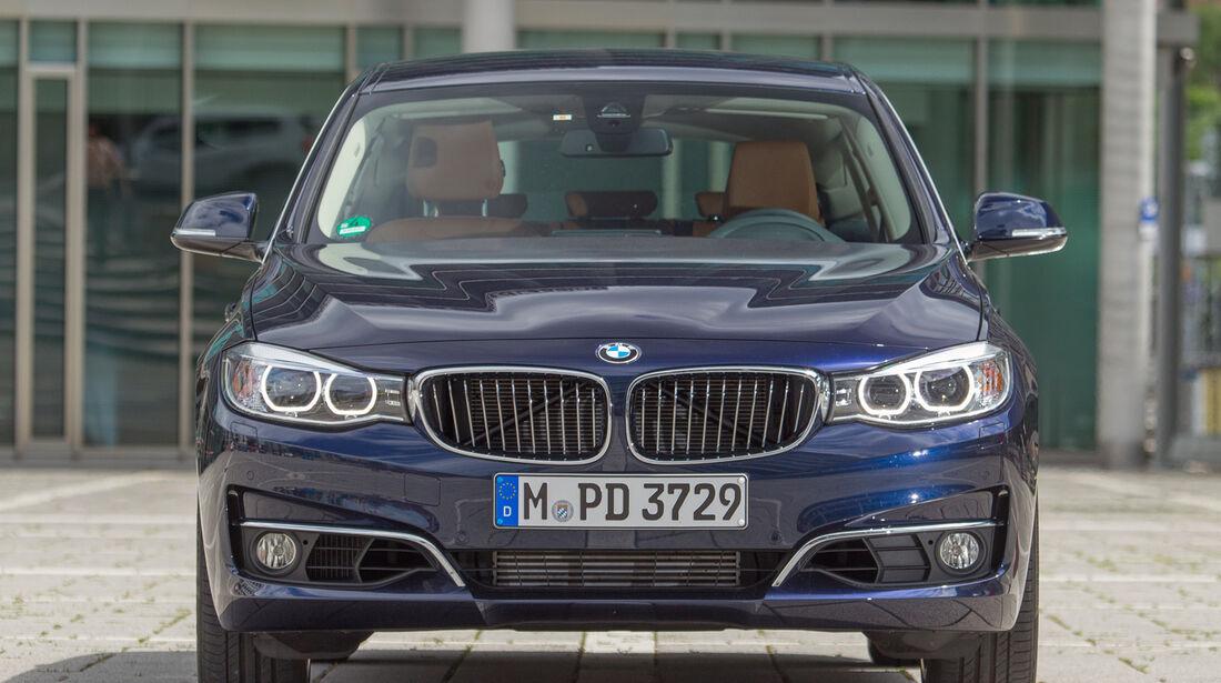 BMW 335i Gran Turismo, Frontansicht