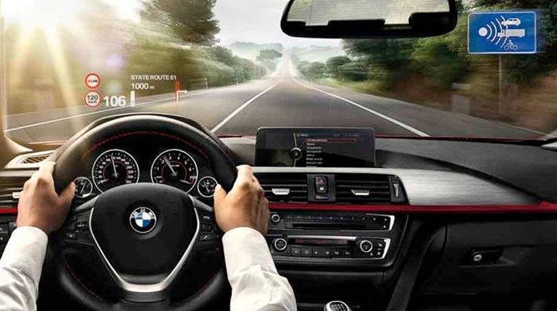 BMW 3er 2012, Innenraum