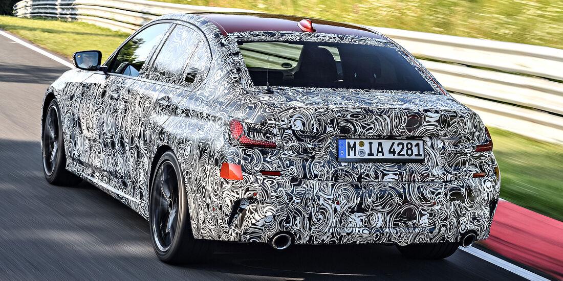 BMW 3er G20 (2018) Erprobung Erlkönig