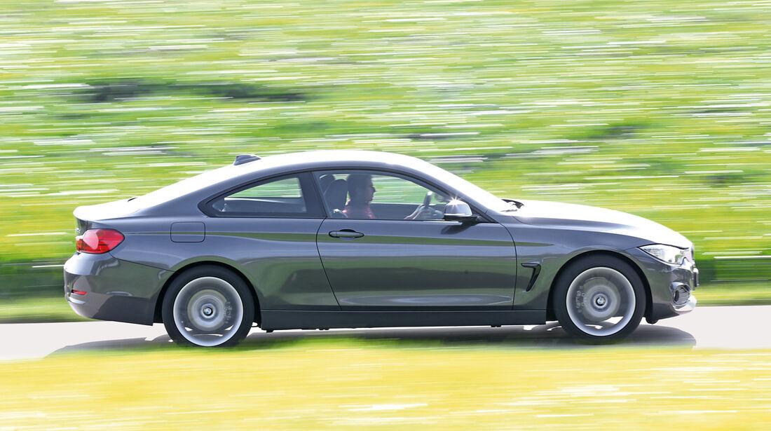 BMW 420d, Seitenansicht