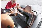 BMW 435i Cabrio, Windschott, Rückbank
